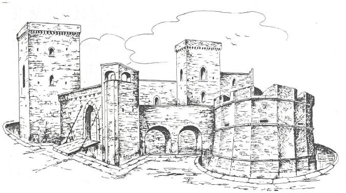 Castello acquaviva aragona sede della pinacoteca comunale - Finestre castelli medievali ...