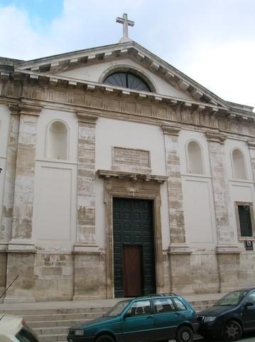 Chiesa di santa maria la nova v vittorio emanuele - Zoccolo esterno facciata ...
