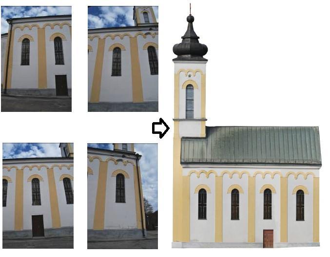 """Dalle riprese fotografiche al fotopiano digitale della Chiesa Ortodossa """"Pokrov Presvete Bogorodice"""""""