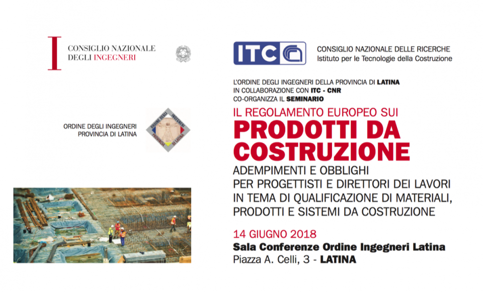 06/14/18 – Continuing vocational training courses on the subject of national and international qualification of construction materials, products and systems