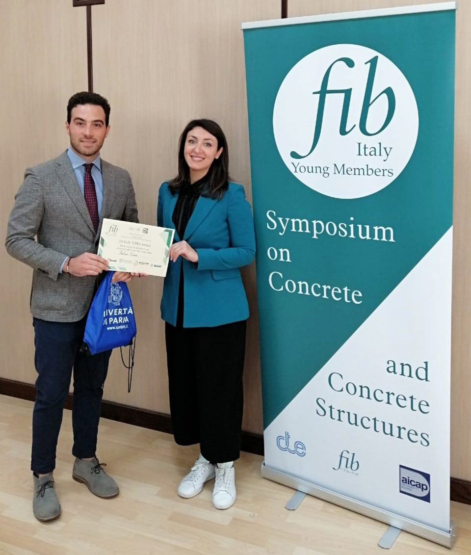 "A ITC CNR il riconoscimento ""fib Italy Young Member Group Award for Best Research Advances in Concrete and Concrete Structures"""