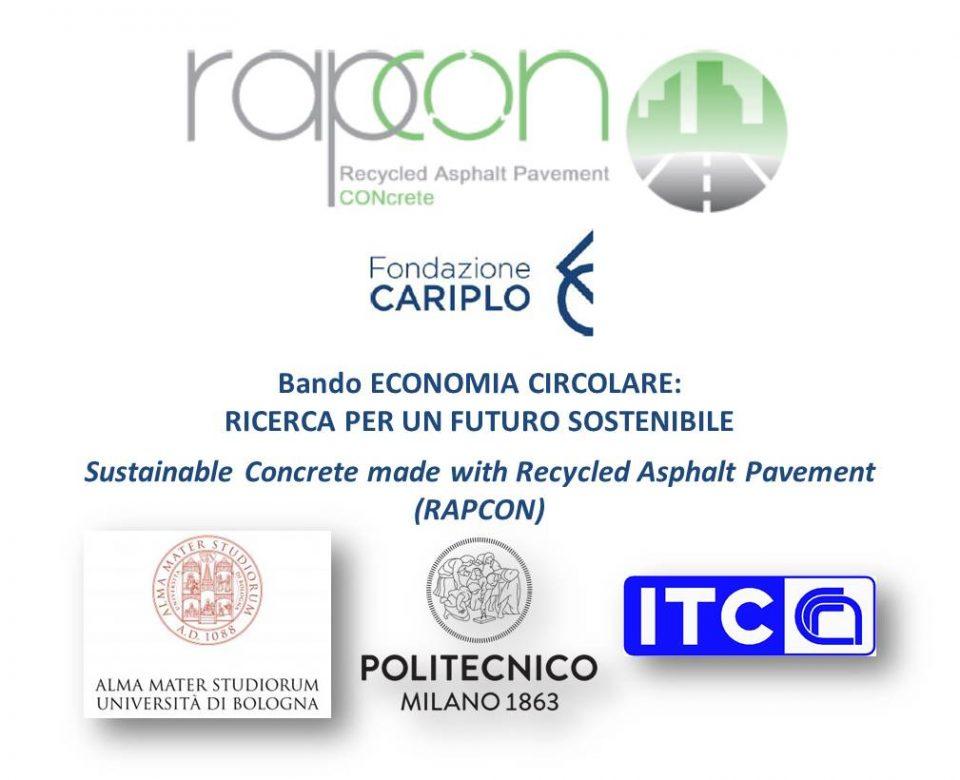 Sostenibilità ed economia circolare: parole chiave per il nuovo progetto RAPCON